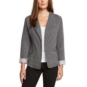 Matty M💕Peppered Knit Gray Career Terry Blazer M